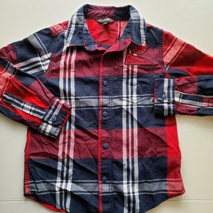 *3 for $20* Boys Button up Collared Shirt